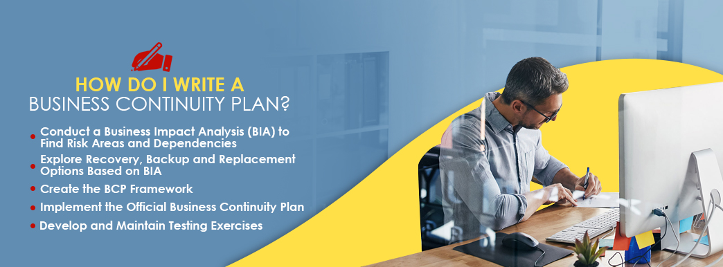 how do i write a business continuity plan