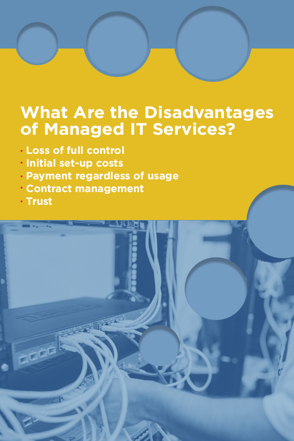 disadvantages of Managed IT services