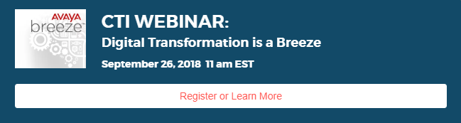 Avaya Breeze Webinar
