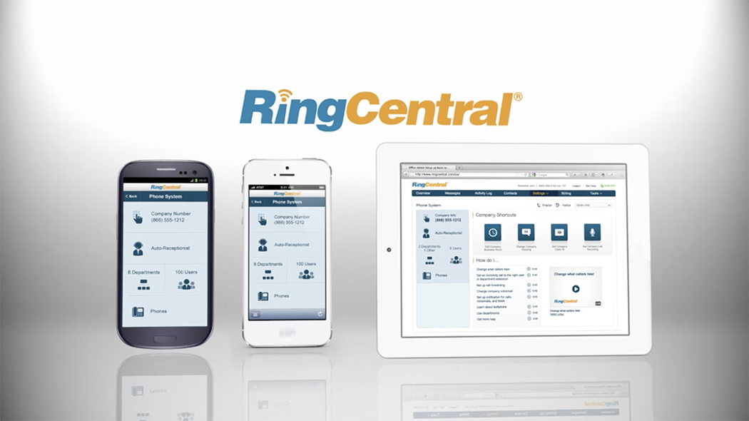 RingCentral Cloud-Based Unified Communications