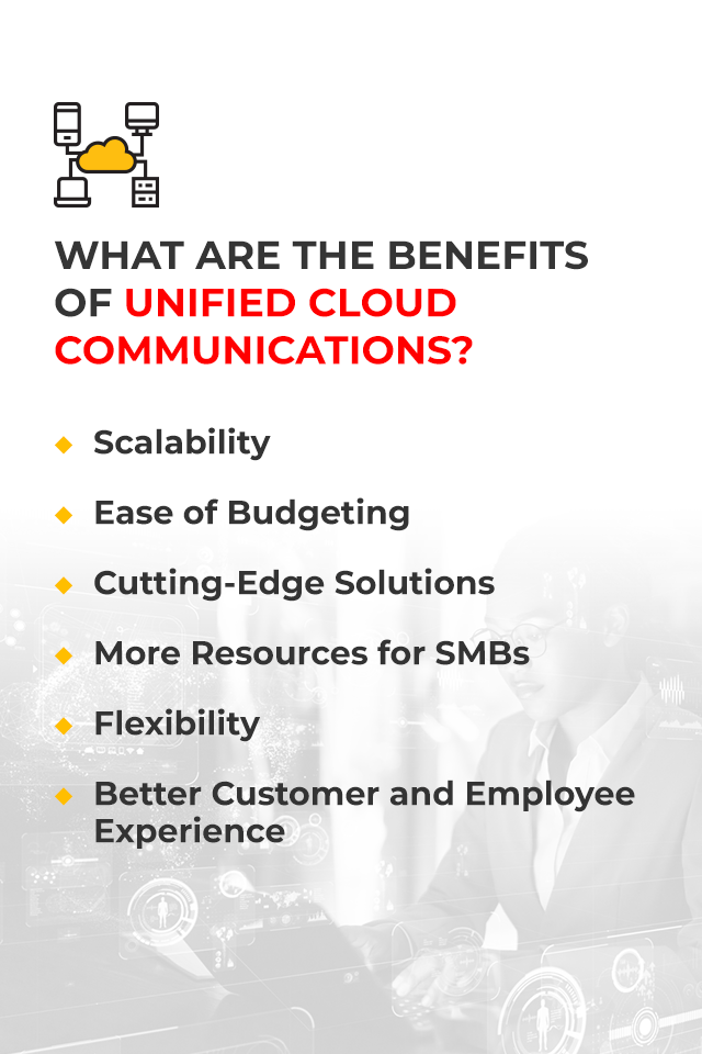 what are the benefits of unified cloud communcations
