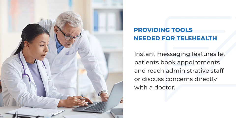 Providing Tools Needed for Telehealth